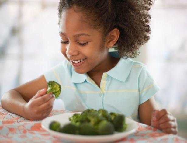 Alimentação saudável das crianças deve ser estimulada desde cedo pelos pais