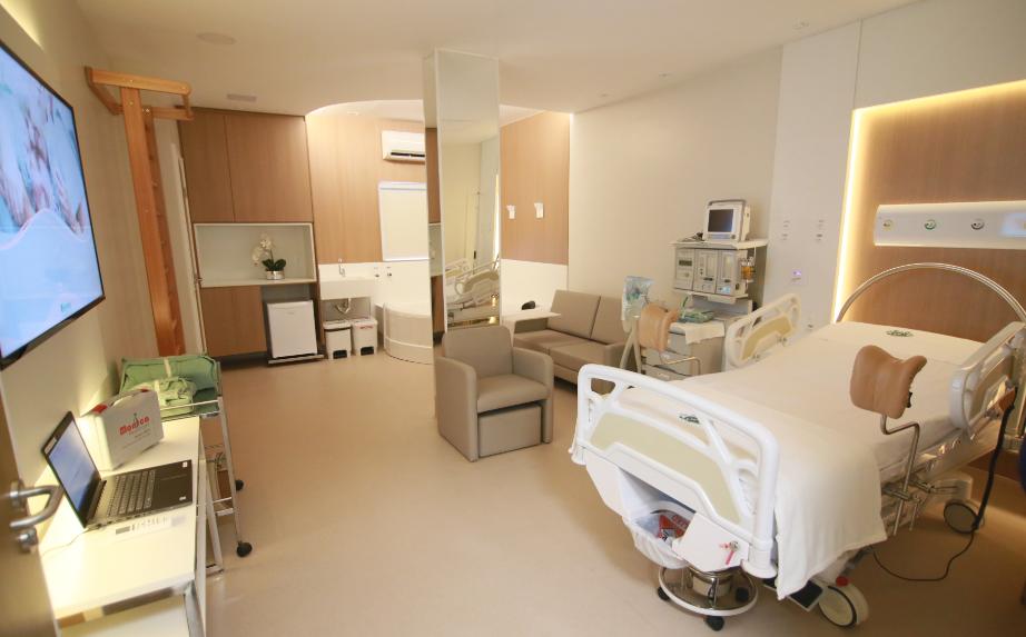 Suíte de parto adequado proporciona maior autonomia para as mulheres na hora de dar à luz