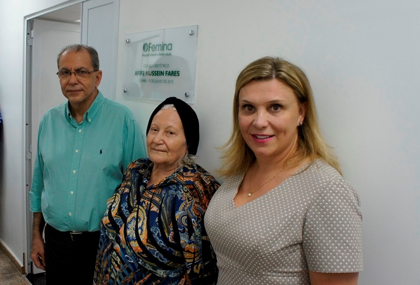 Femina inaugura Centro Obstétrico voltado para parto normal