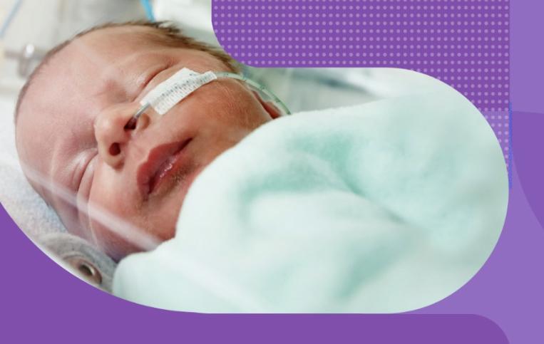Femina realiza campanha Novembro Roxo e chama atenção para a prematuridade