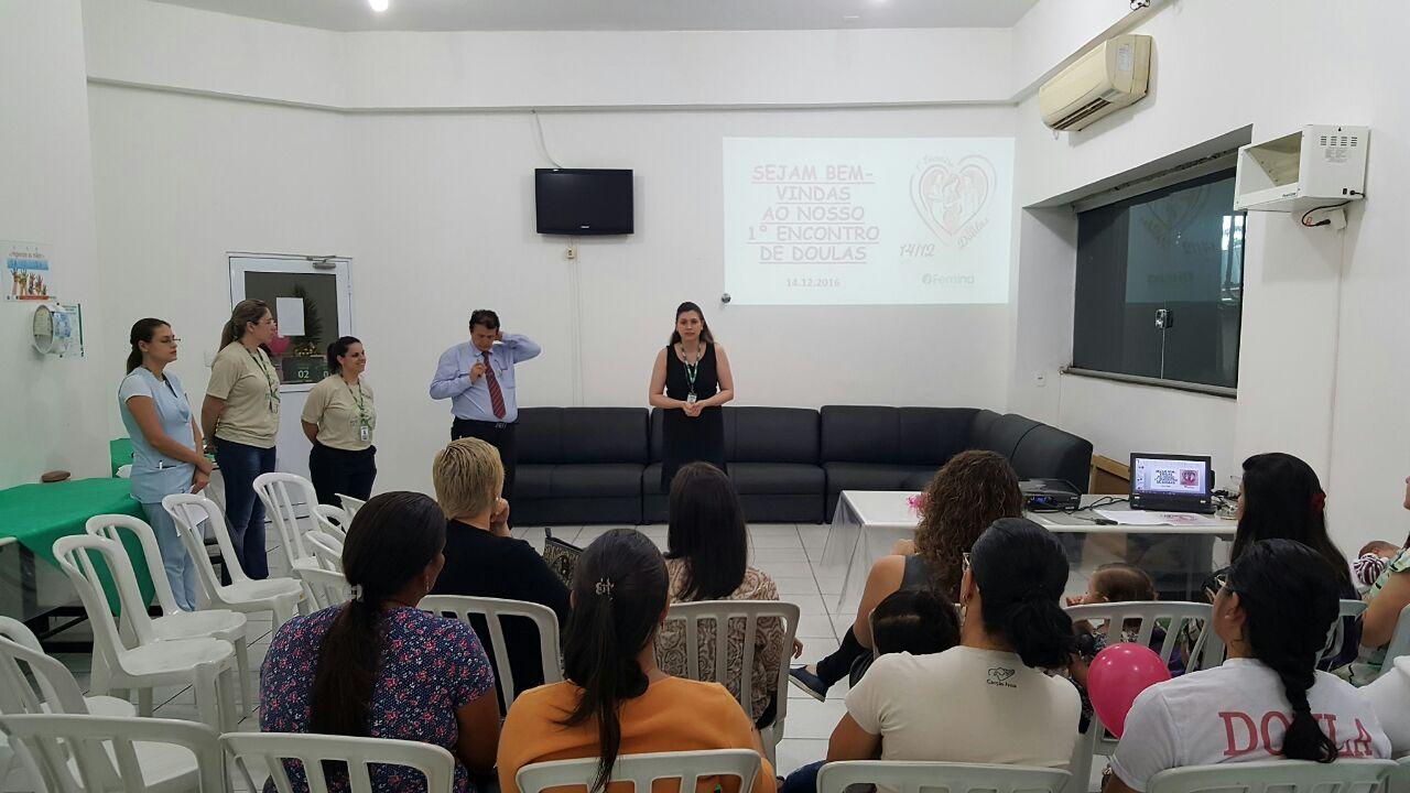 Femina realiza o primeiro 'Encontro de Doulas' em Cuiabá