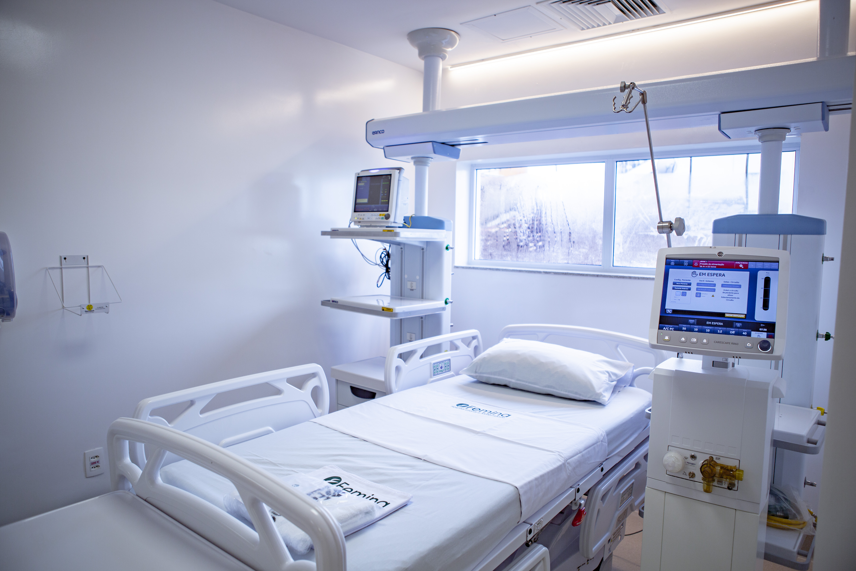 UTI para adultos do Hospital Femina está entre as mais seguras do país